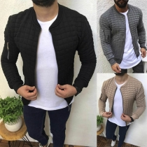 Veste Stylée à la Mode à Manches Longues Pour les Hommes