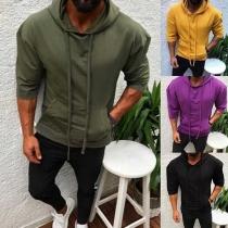Tee-Shirt/Pull Stylé à la Mode à Capuche Pour les Hommes