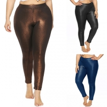 Fashion High Waist Stretch Leggings
