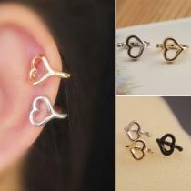 Boucles d'oreilles en Forme de Coeur