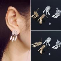 Boucles d'Oreillles/Bijoux / Accessoires Pour Femmes Chic à la Mode avec un Design D'Attrape-Rêves