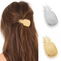 Epingle à Cheveux Douce Mignonne à la Mode Chic avec un Design d'Ananas