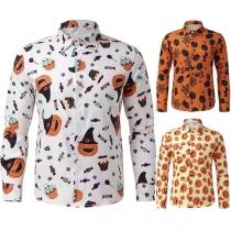 Chemise Stylée à la Mode au Col POLO à Imprimés