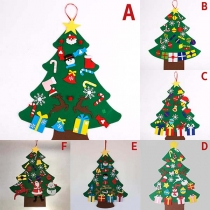 Creative Style DIY Christmas Tree Shaped Christmas Decorations