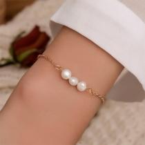 Bracelet Doux Chic à la Mode avec les Perles