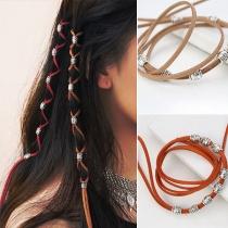 Accessoires de Cheveux en Perles de Style Hip-hop