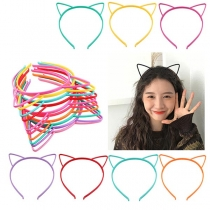 3 Pièces / ensemble  de Bandeau en Forme d'oreille de Chat Style Mignon