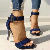 Sexy High Heel Open Toe Sandals