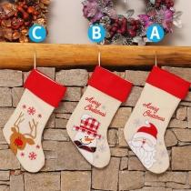 Cute Style Christmas Printed Pattern Christmas Socks