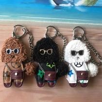 Cute Style Teddy Dog Pendant Key Chain
