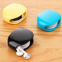 Portable Earphone Data Cable Charging Cable Storage Box Auto Winder