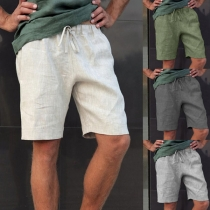 Sport Shorts Occasionnels pour Homme Style Simple avec Cordon de Serrage