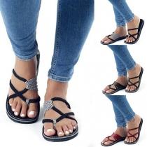 Sandales à Brides de Style Bohème