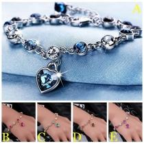 Bijou pour Femmes---Bracelet Stylé à la Mode avec les Cristaux