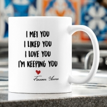 PERSONALIZED MUG: Sweetest Gift For Her - Him Mugs