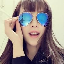 Aviator Miroir miroir UV400 Lunettes de soleil Shades