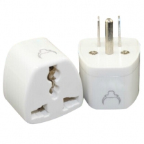 Grounded Adapter Universal Plug